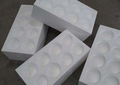 Blocs polystyrene isolants par modelage lemasson a bouguenais