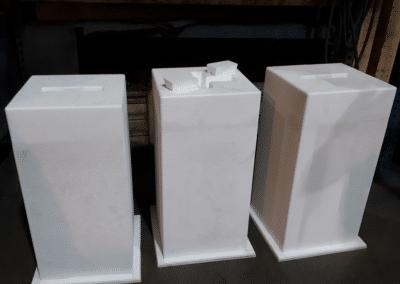 Modèles polystyrene