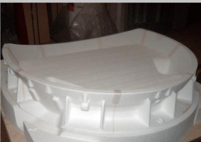 modèle polystyrène