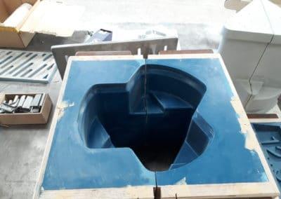 Outillage de fonderie en résine pour fabrication de lests