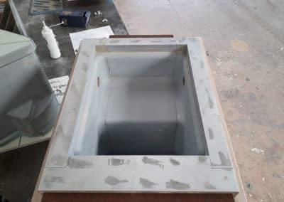 Outillage de fonderie en résine pour la fabrication de contrepoids