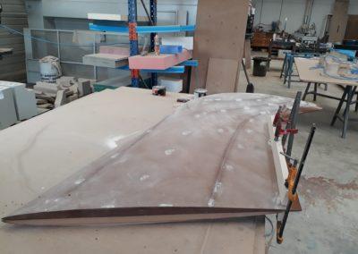 Fabrication de quilles de voiliers sur mesure