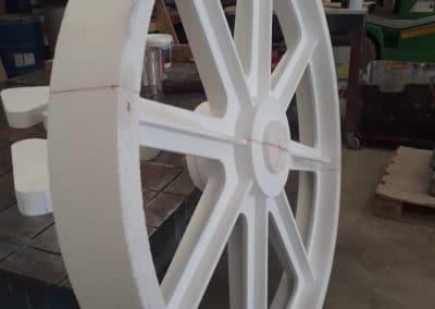 Modèle perdu en polystyrène pour fabrication pièce en fonderie