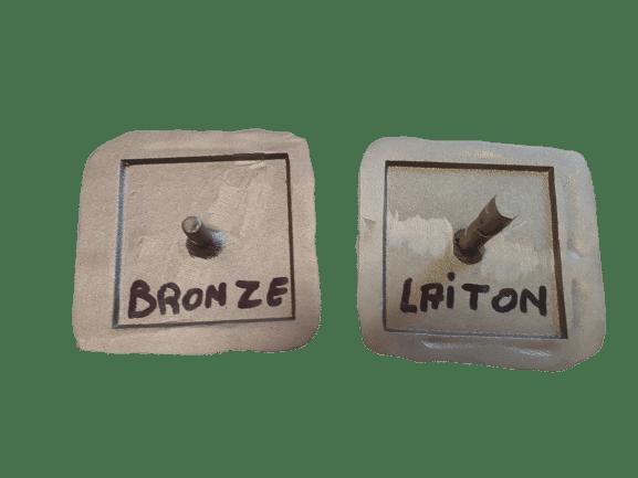 clous routiers sur-mesure bronze et laiton