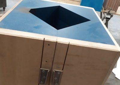 outillage de fonderie pour réalisation pièce en bronze