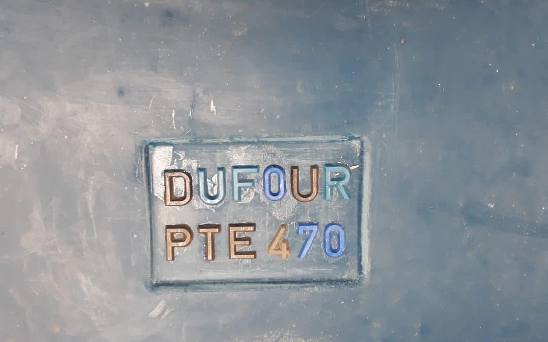 Outillage fonderie pour la fabrication de la quille du Dufour 470