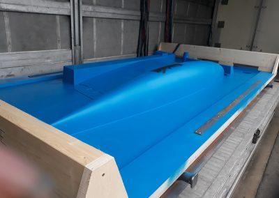 Outillage de fonderie pour réalisation de quille de voilier