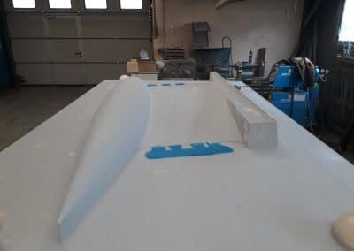 Modèle de fonderie pour réalisation quille voilier Dufour 470