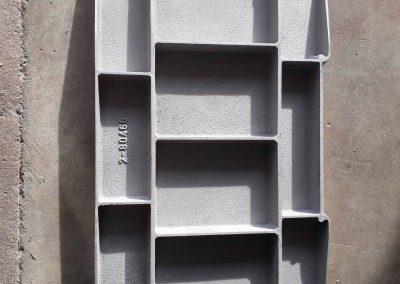Porte de trappe d'inspection pour silo